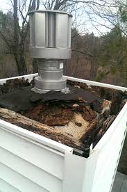 how to cover chimney hole repair how to cover chimney hole