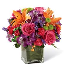 cheap flowers to send let s party mixed bouquet at send flowers
