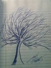 how to draw beautiful drawing how to draw a beautiful winter tree snapguide