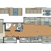 Rv Floor Plans Class A Dynamax Corporation Force 37ts Super C Motorhome Dynamax Rv Floor