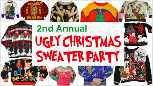 ugly christmas sweater party u2014 busted sandal brewing company