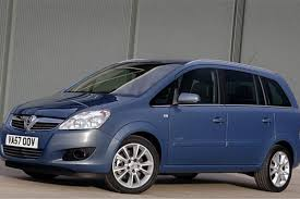 vauxhall zafira 2013 vauxhall zafira b 2005 car review honest john