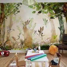 enchanted woodland wall mural wall murals wallpaper and walls