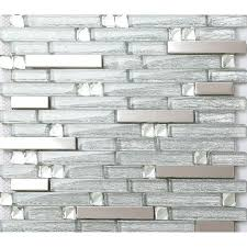 Metal Backsplash Tiles For Kitchens 20 Best Metal Glass Tiles Images On Pinterest Glass Tiles