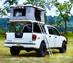 nissan titan camper shell nissan titan pickup truck camping pinterest nissan titan