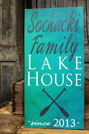 Personalized Home Decor Signs Best 25 Lake House Signs Ideas On Pinterest Lake Decor Lake