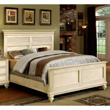 Driftwood Bedroom Furniture Coventry Wood Shutter Panel Bed In Weathered Driftwood Dover