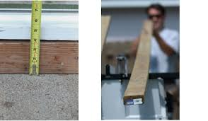 How To Build A Awning Over A Deck Diy Steps For Building A Deck Over A Patio Slab The Low Down On
