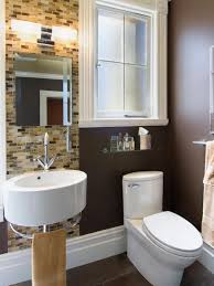 Hgtv Master Bathroom Designs by Small Bathrooms Big Design Hgtv