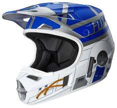kids motocross gear closeouts fox racing youth v1 r2d2 le helmet revzilla
