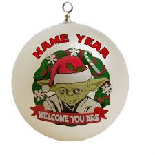 ornaments wars ornament wars yoda