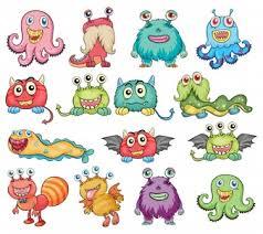 cartoon monster vectors photos psd files free download