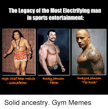 The Rock Gym Memes - the legacy of the most electrifying man in sports entertainment