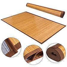 Wood Area Rug Best Choice Products Bamboo Area Rug Carpet Indoor