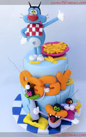 learn colors with oggy monster 9 best cakes for children images on pinterest car cakes fondant