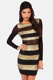 black and gold dress black dress gold dress striped dress 57 00