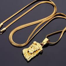catholic necklaces aliexpress buy fashion iced out gold jesus catholic