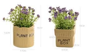 Bathroom Flowers And Plants Free Shipping H15cm Zakka American Potted Bonsai Small Desktop