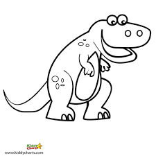 4 best images of printable dinosaur coloring chart dinosaur
