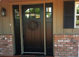 Steel Or Fiberglass Exterior Door Miraculous Fiberglass Entry Door In Front White Doors With Home
