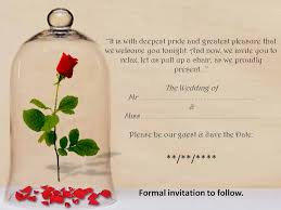 Wedding Quotes For Invitations Beauty And The Beast Wedding Invitation Wording Futureclim Info
