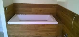 vasche da bagno legno rivestimento vasca da bagno progetto parquet grosseto