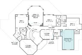 Lakefront Home Floor Plans Colonial House Plan With 4 Bedrooms And 3 5 Baths Plan 6001