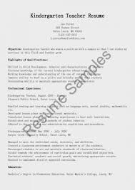 resume format exles for preschool andten resume format sle featuring