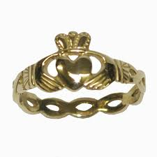 claddagh ring galway and heart claddagh ring gold friendship ring made in