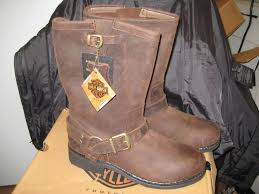 womens brown cowboy boots size 11 harley davidson womens brown engineer harness boot 85134 size 11 m