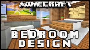 Minecraft Bedroom Ideas Minecraft How To Make A Master Bedroom Design Modern House Build