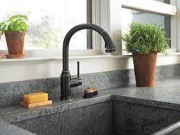 hansgrohe talis kitchen faucet hansgrohe 04216920 bronze talis c pull kitchen faucet mega