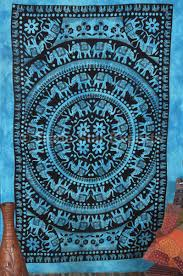 Light Colored Tapestry Trade Star Exports Mandala