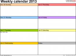 weekly schedule template cyberuse one week calendar 2016 6xn saneme