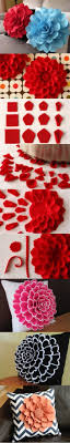 Penggunaan volumetrik bunga dari corak kertas berwarna