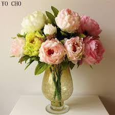 artificial peony picture more detailed picture about 1 pcs 7 5