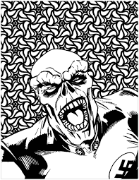 books comics coloring pages adults justcolor