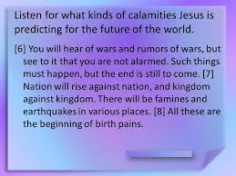 signs of the end times sept 13 think about it u2026 why do you think