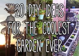 Diy Backyard Garden Ideas 20 Diy Garden Ideas To Take Your Backyard To The Next Level