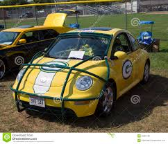 car volkswagen side view 2002 green bay packers vw beetle side view editorial stock photo