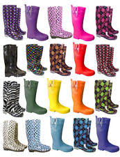 womens rubber boots size 9 s wellington boots ebay