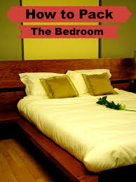 Small Yellow Box Bedroom How To Pack The Bedroom Moving Insider