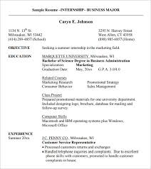 Computer Science Internship Resume Sample by Resume Templates For Internships High Resume Templates