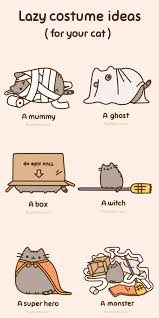 Pusheen The Cat Meme - lazy costume ideas for your cat pusheen funny pictures and cat