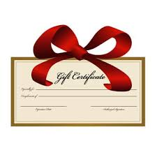 custom gift certificates gift certificate to saratogaflag