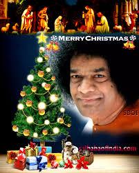 xmas sai baba greeting cards jesus christ statue at sai baba ashram