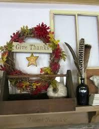 thanksgiving mantel decorating using flea market finds hometalk