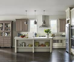 White Maple Kitchen Cabinets - off white painted kitchen cabinets kemper cabinetry