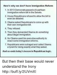 Be Like Bill Here S - here s why we don t have immigration reform 1 in 2013 democrats