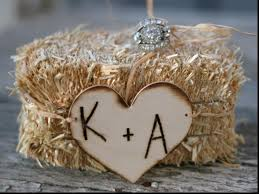stunning country wedding ring bearer pillow incredible wedding